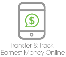 Transfer & Track Earnest Money Online